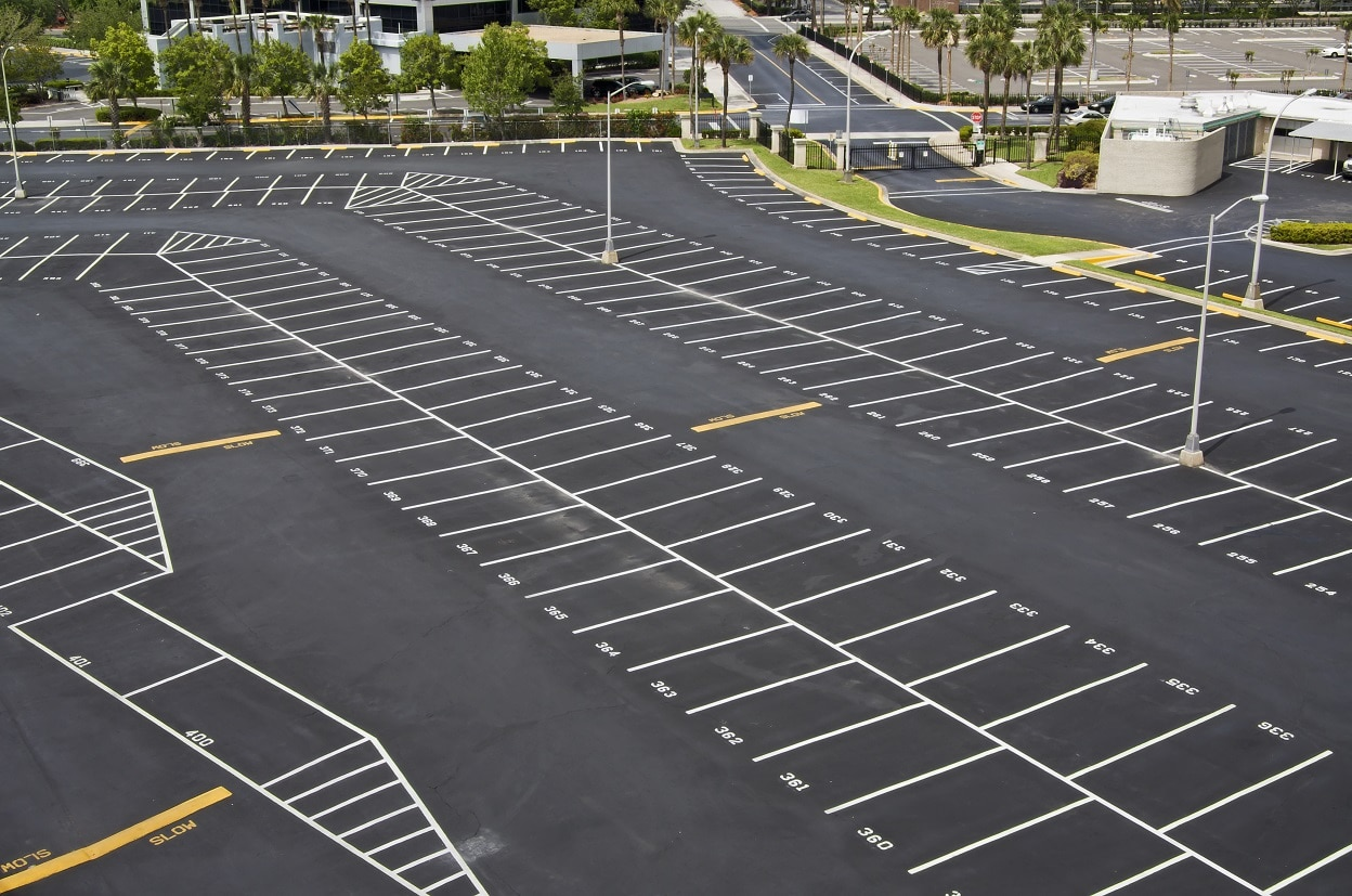 parking lot striping in El Paso Texas