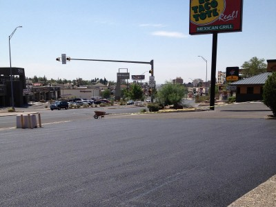 New Asphalt Paving for local business